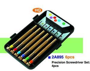 Presicion Screwdriver set 6 pcs
